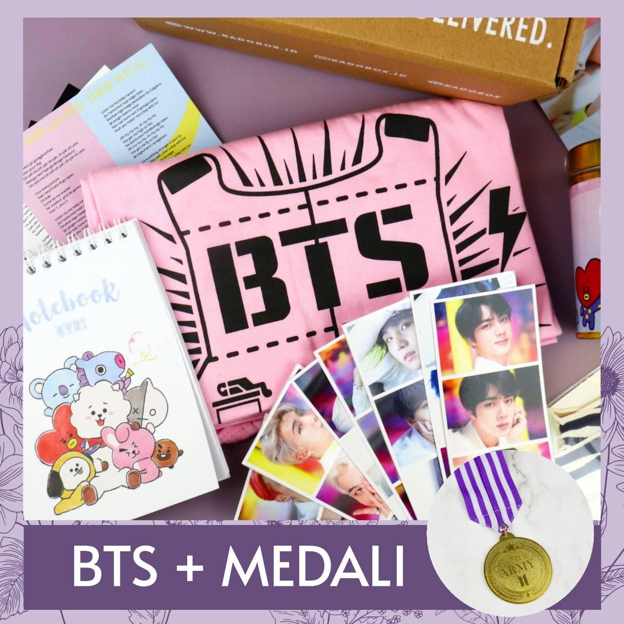 BTS + MEDALI