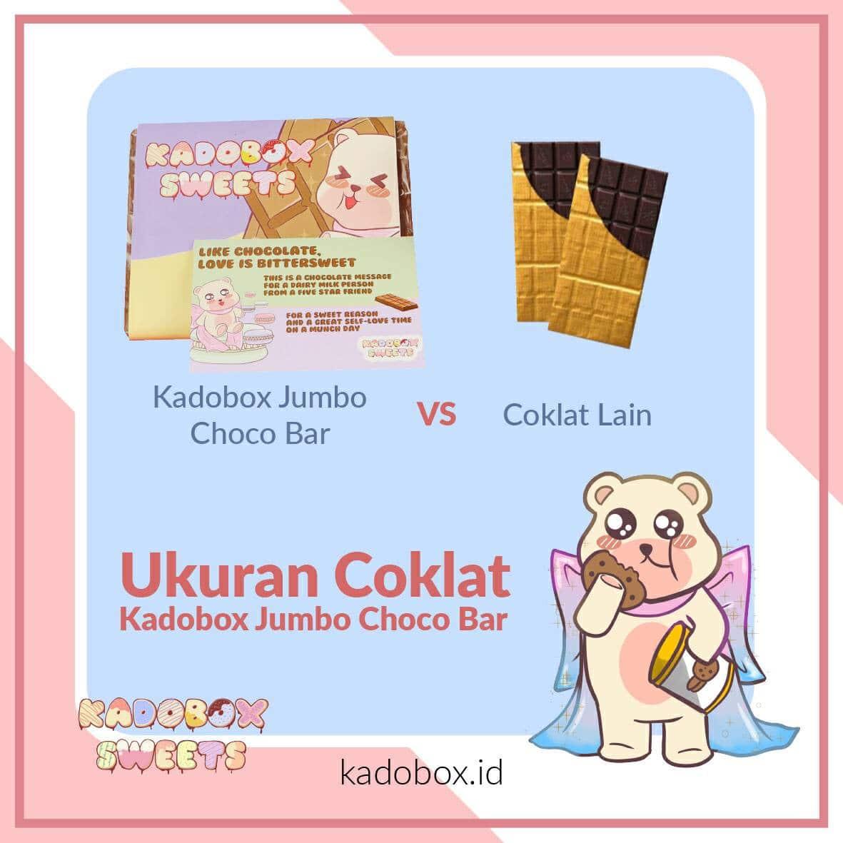 KADOBOX JUMBO CHOCO BAR - 3