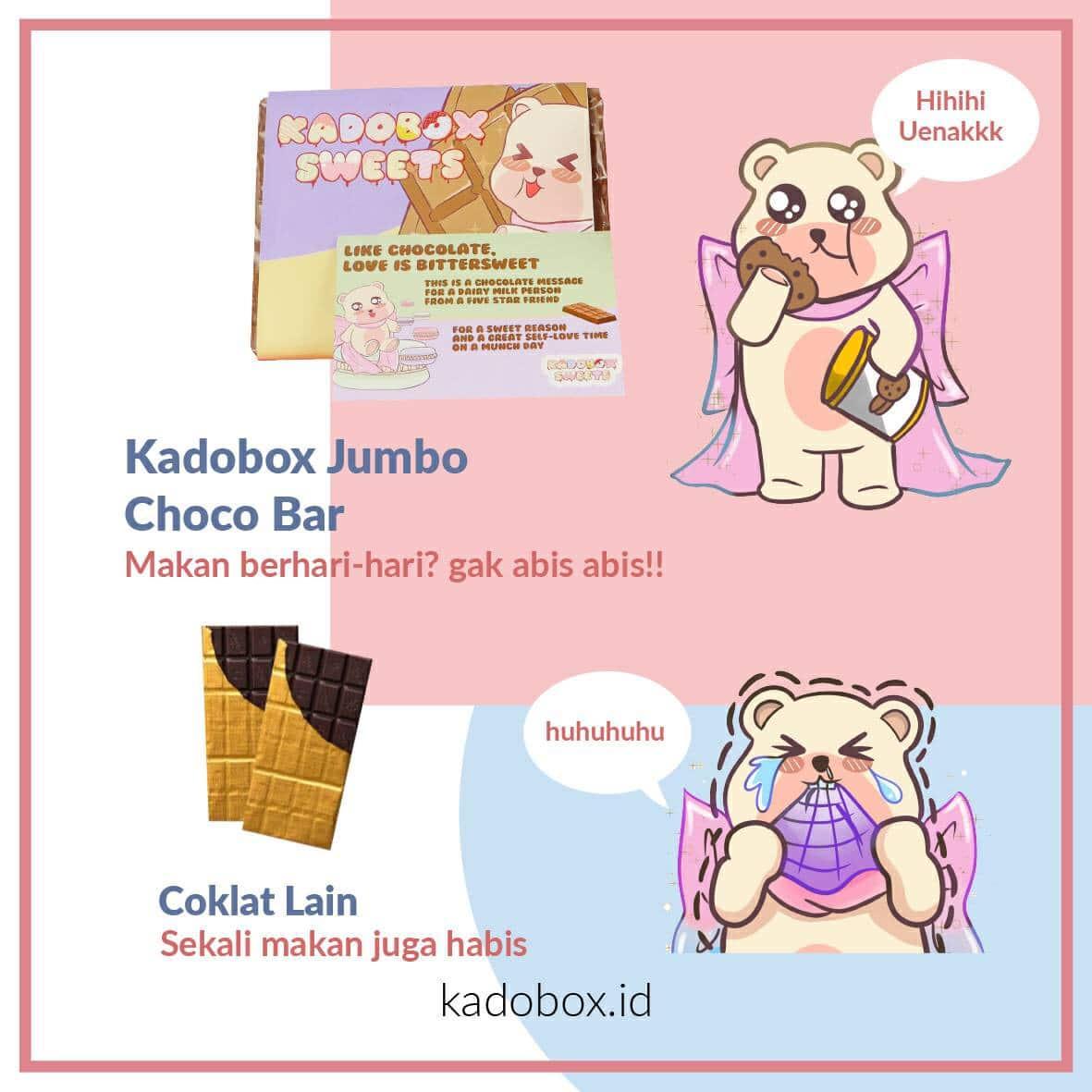 KADOBOX JUMBO CHOCO BAR - 4