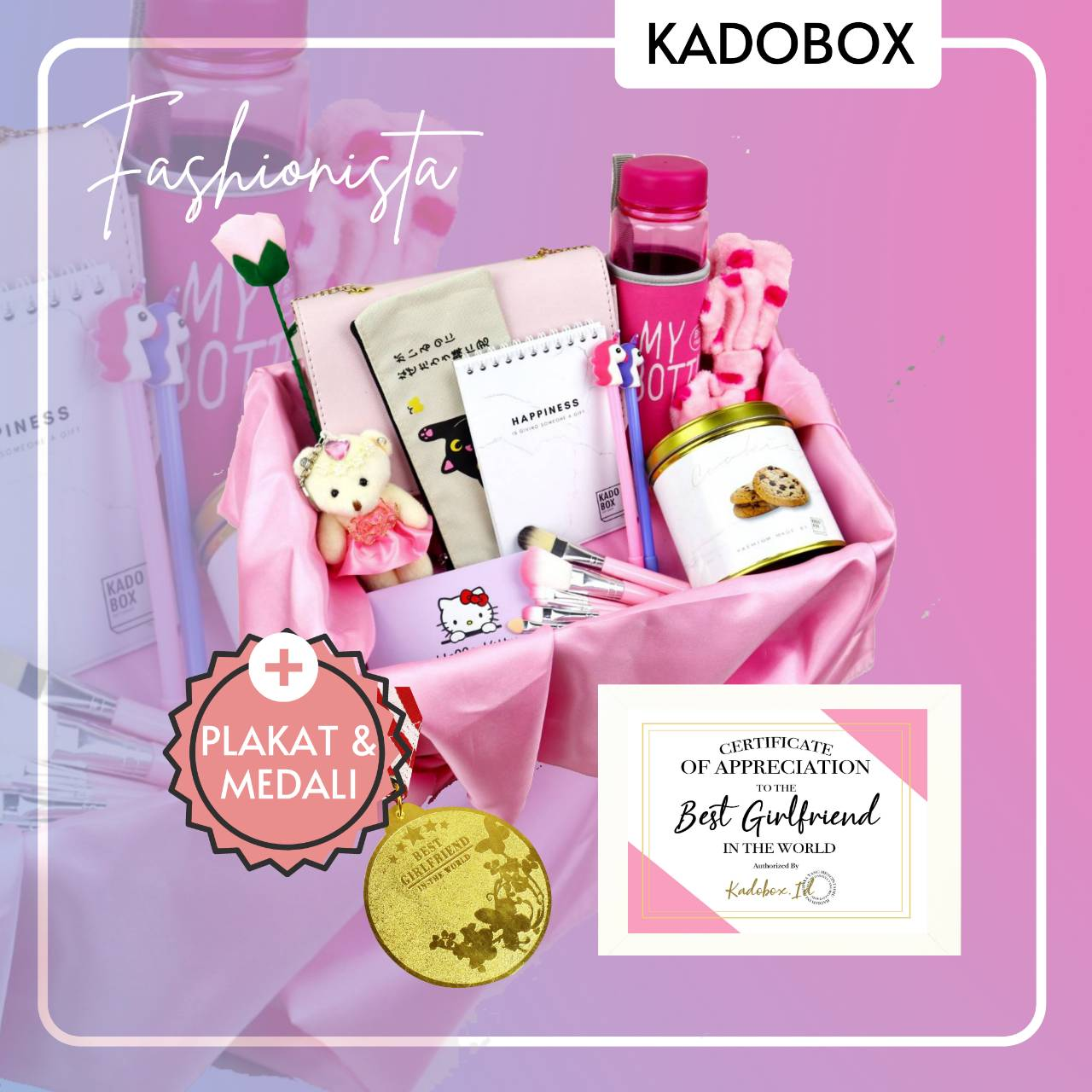 KADOBOX MEDALI PLAKAT FOR HER VIP