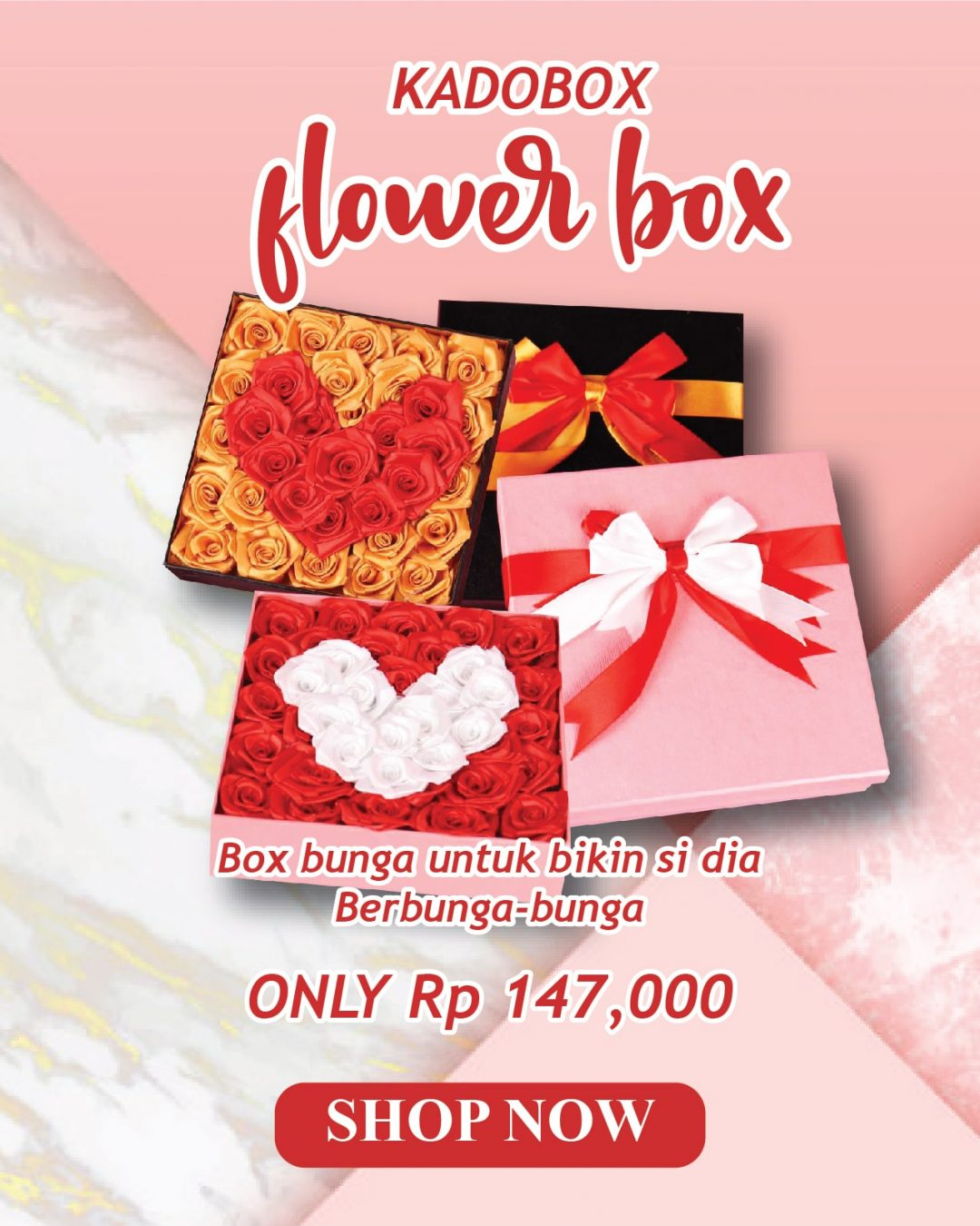 Banner Flower Box - Mobile